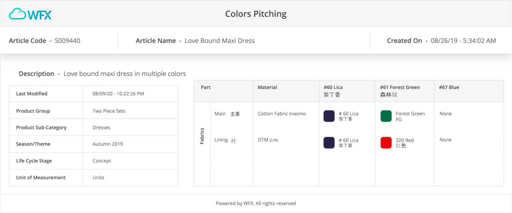 color-pitching